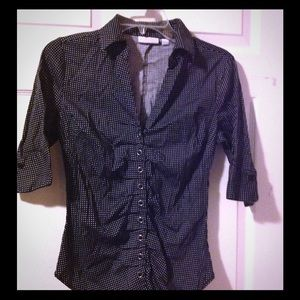 Women's sz Small NEW YORK & CO super cute blouse
